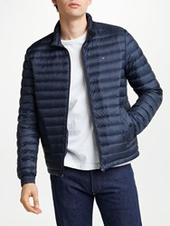 Tommy Hilfiger Packable Down Bomber Jacket Navy
