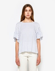 Farrow Fletcher Top Blue White