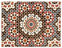Calligaris Marocco Rug 95 Inch Red