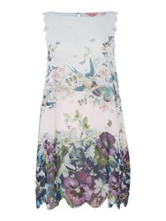 Ted Baker Entangled Enchantment Cover Up Blue Multi