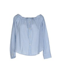 .Tessa Shirts Blouses Women Sky Blue