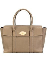 Mulberry Double Handles Tote Brown
