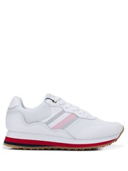 Tommy Hilfiger Lace Up Sneakers White