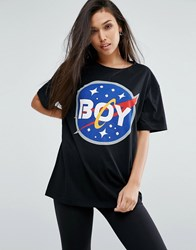 Boy London Space Logo Tee Black