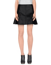 Denim And Supply Ralph Lauren Mini Skirts Black
