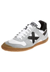 Munich Gaol Trainers White Grey Black