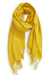 Trouve Solid Scarf Yellow Sulphur