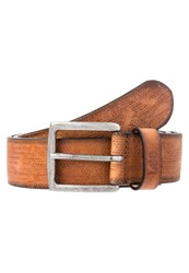 Lee Belt Dark Cognac Light Brown