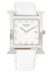 Hermes Vintage 'Heure H' Diamond Watch