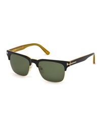 Tom Ford Vintage River Sunglasses Black Honey