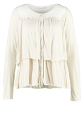 Cream Alba Long Sleeved Top Kit Off White