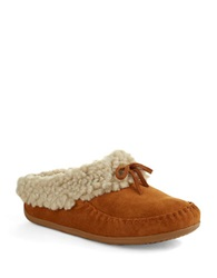 Fitflop The Cuddler Snugmoc Tm Wool Moccasin Slippers Chestnut