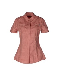 Meltin Pot Short Sleeve Shirts Salmon Pink