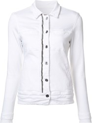 Rta Fitted Jacket White