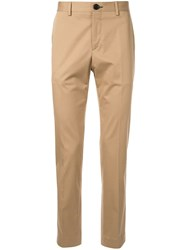 Paul Smith Ps Casual Chinos Brown