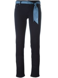 Jacob Cohen 'Jocelyn' Slim Fit Trousers Blue
