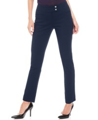 Styleandco. Style And Co. Petite Pants Slim Leg Ankle Ink