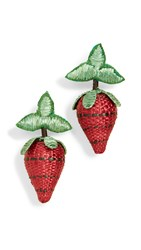 All Things Mochi Berry Earrings Red