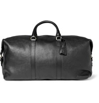 Mulberry Clipper Leather Holdall Bag Black