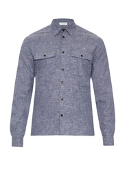 Tomas Maier Patch Pocket Brushed Cotton Shirt