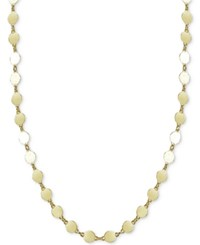 Giani Bernini Round Disc Choker Necklace Only At Macy's Gold