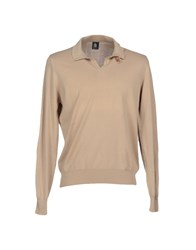 Marina Yachting Knitwear Turtlenecks Men Beige
