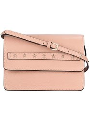 Red Valentino Star Studded Cross Body Bag Pink Purple
