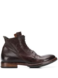 Moma Minsk Ankle Boots Brown