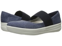 Fitflop Sporty Mary Jane Midnight Navy Women's Lace Up Casual Shoes Blue