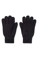 Men's Bickley Mitchell Knit Gloves Black Twist