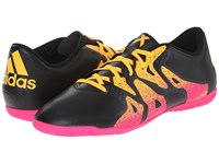 Adidas X 15.4 In Black Shock Pink Solar Gold Men's Soccer Shoes