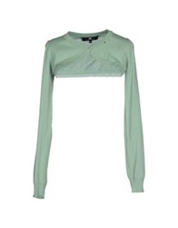 Elisabetta Franchi Wrap Cardigans Light Green
