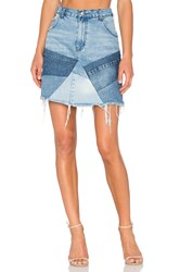 Prps Goods And Co Patch Mini Skirt Indigo