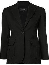 Derek Lam One Button Blazer Black