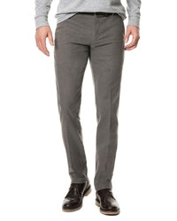 Rodd And Gunn Edenvale Casual Flat Front Pants Dark Gray