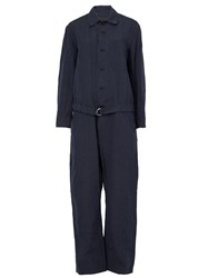 08Sircus Belted Jumpsuit Blue