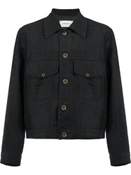 Song For The Mute Classic Shirt Jacket Black