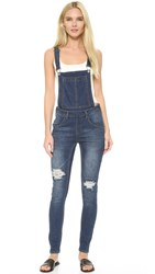 Cheap Monday Carbon Blue Dungaree Overalls