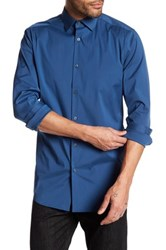 Theory Dover Slim Fit Shirt Blue