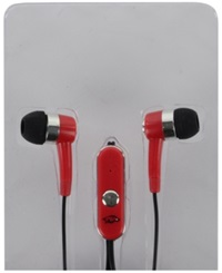Mizco Arkansas Razorbacks Earbuds Team Color
