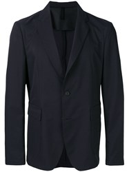 Hugo Boss Patterned Blazer Blue