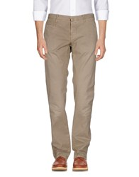 Incotex Red Casual Pants Khaki