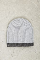 Forever 21 Men Cuffless Ribbed Beanie