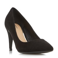 Linea Anette Pointed Court Shoes Black