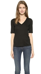 J Brand Ready To Wear Eluise Tee Black
