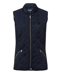Olsen Quilted Gilet Navy