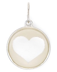 Alex And Ani Heart Charm Silver