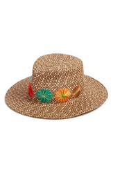 Eric Javits Women's Zanzibar Packable Squishee Hat
