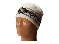 Dale Of Norway Kuppern Masculine Hat Off White Navy Raspberry Knit Hats