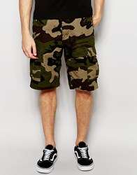 Carhartt Wip Aviation Cargo Shorts Green Rinsed